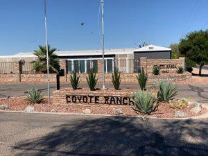 Coyote Ranch- entrance
